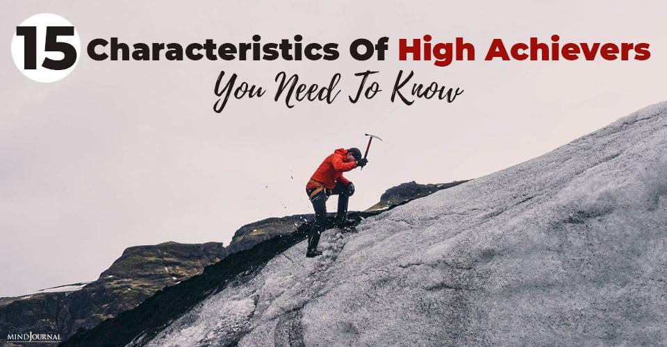 Characteristics High Achievers