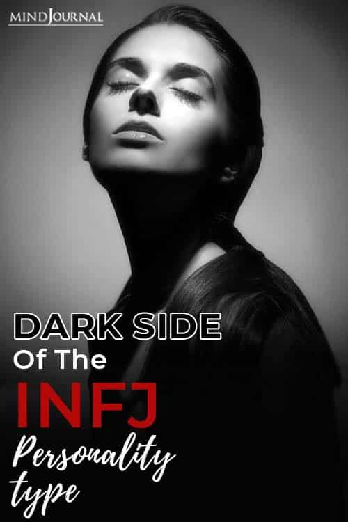 Dark Side INFJ Personality Type Pin
