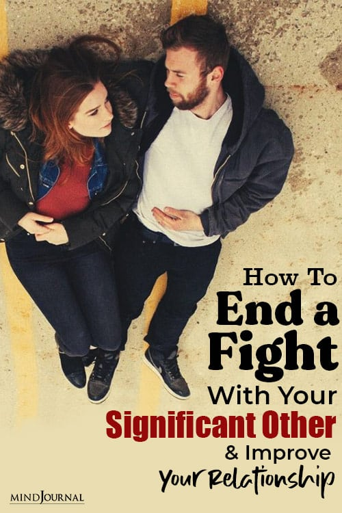 End Fight Improve Relationship pin