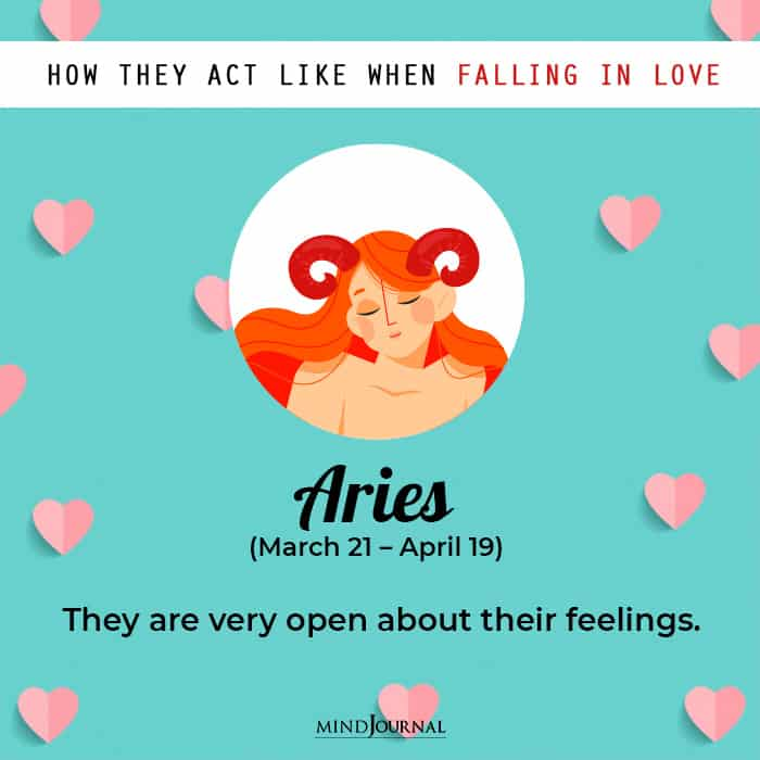 What Each Zodiac Sign Acts Like When They're Secretly Falling In Love