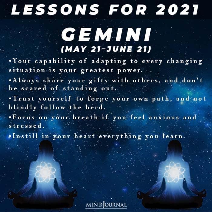 Lessons Are Store In 2021 Zodiac Sign gemini