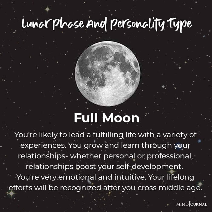 Lunar Personality Type: What the Moon Phase You Were Born In Says About You