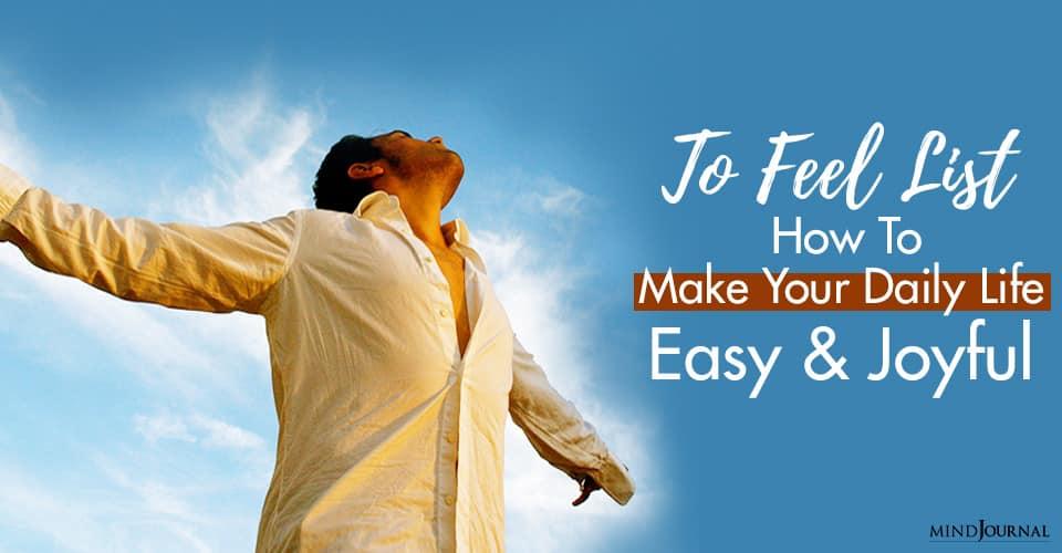 Make Daily Life Easy Joyful