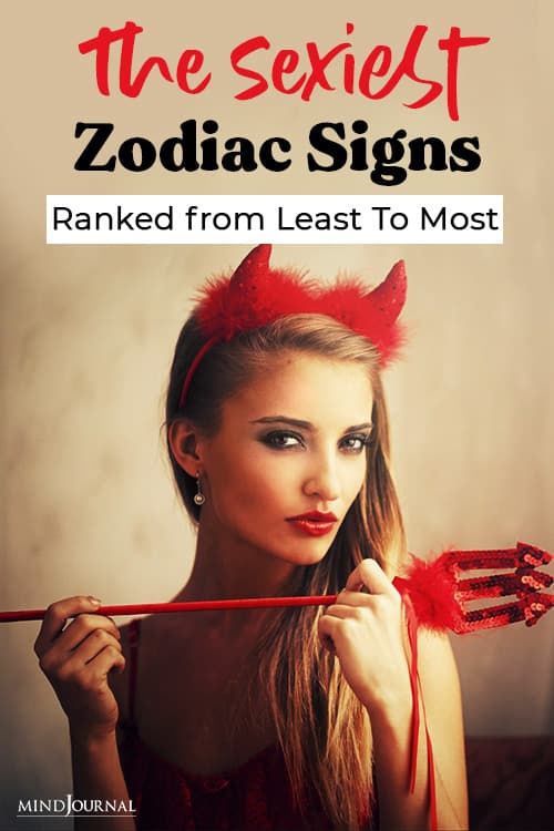 Sexiest Zodiac Signs, Ranked from Least Most Pin