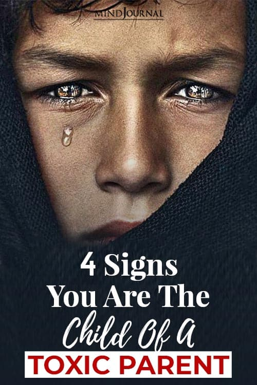 Signs Child Of A Toxic Parent pin