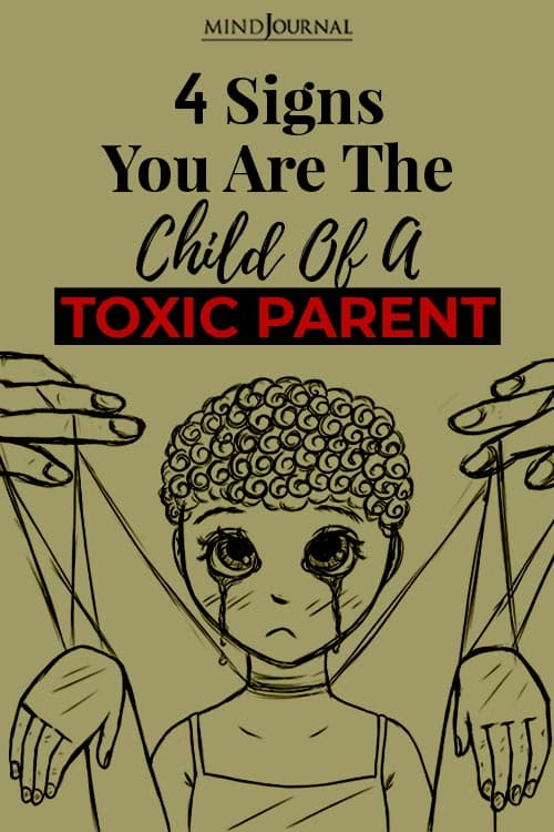Signs Child Of Toxic Parent pin