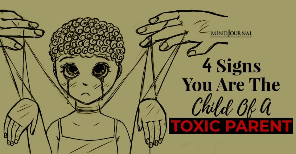 Signs Child Of Toxic Parent