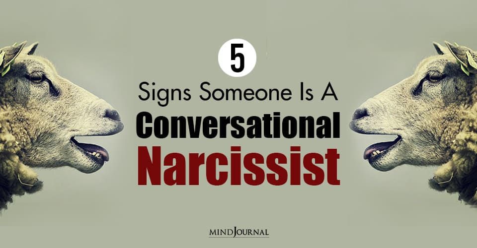 Signs Conversational Narcissist