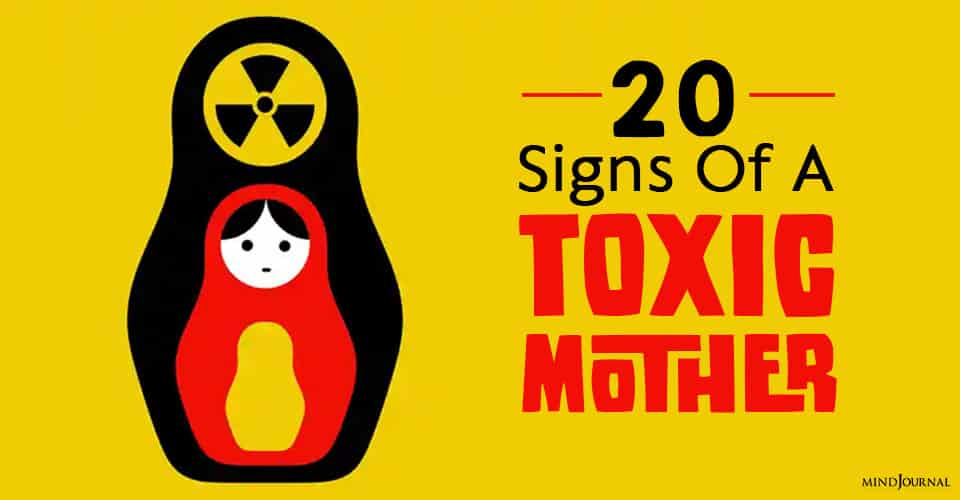 Signs Of A Toxic Mother