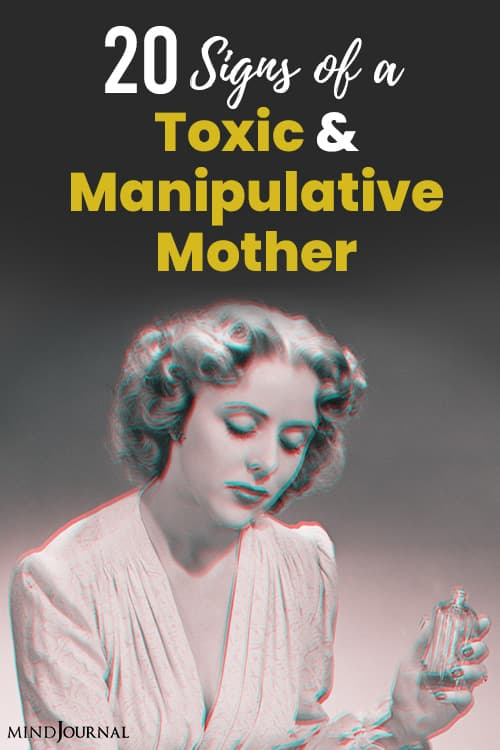 Signs Toxic Manipulative Mother pin