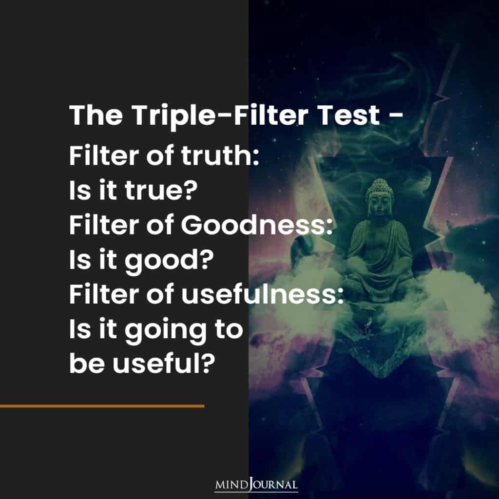 The Triple-Filter Test.