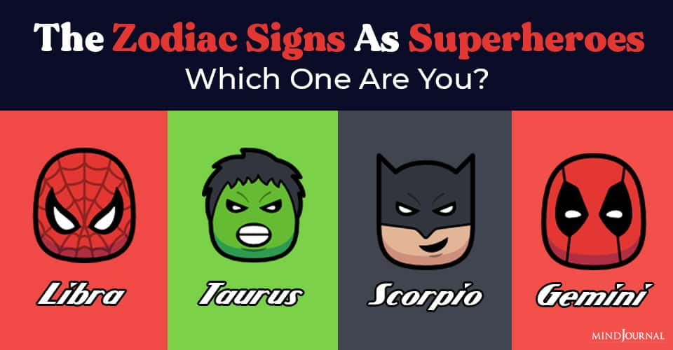 The Zodiac Signs As Superheroes