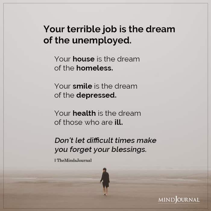 Your Terrible Job Is The Dream Of The Unemployed