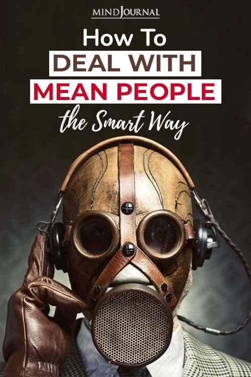 deal mean people smart way pin