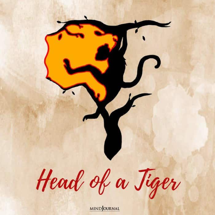 head of the tiger