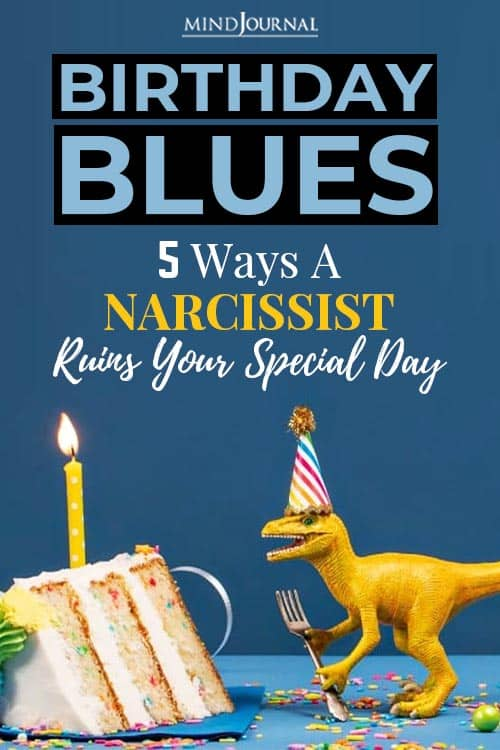 narcissist ruins special day pin