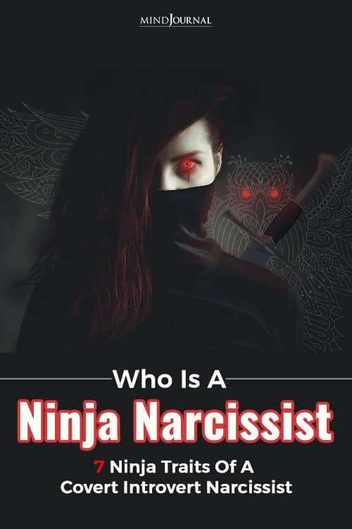 ninja narcissist pin