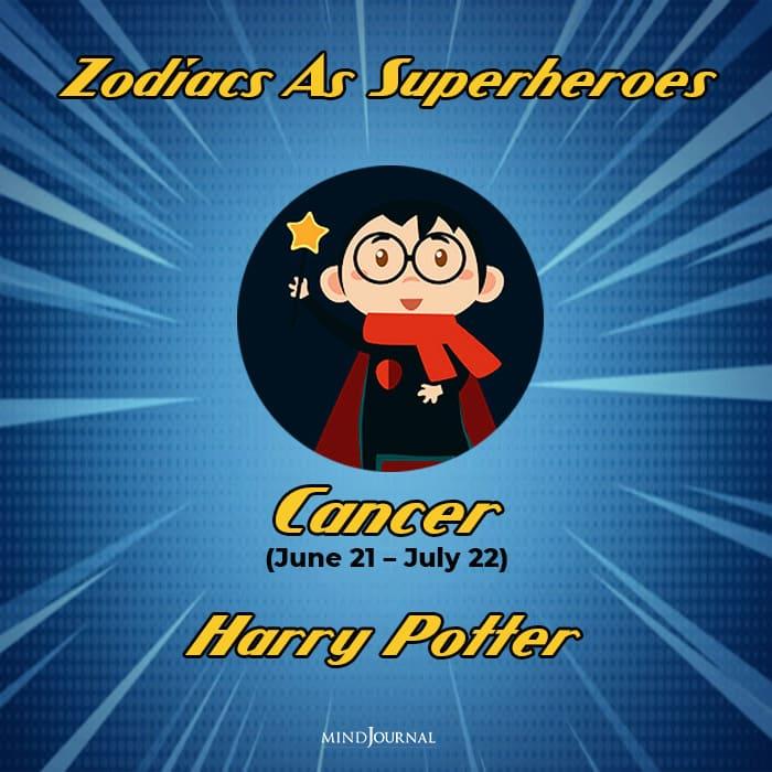 Zodiac Signs As Superhero cancer