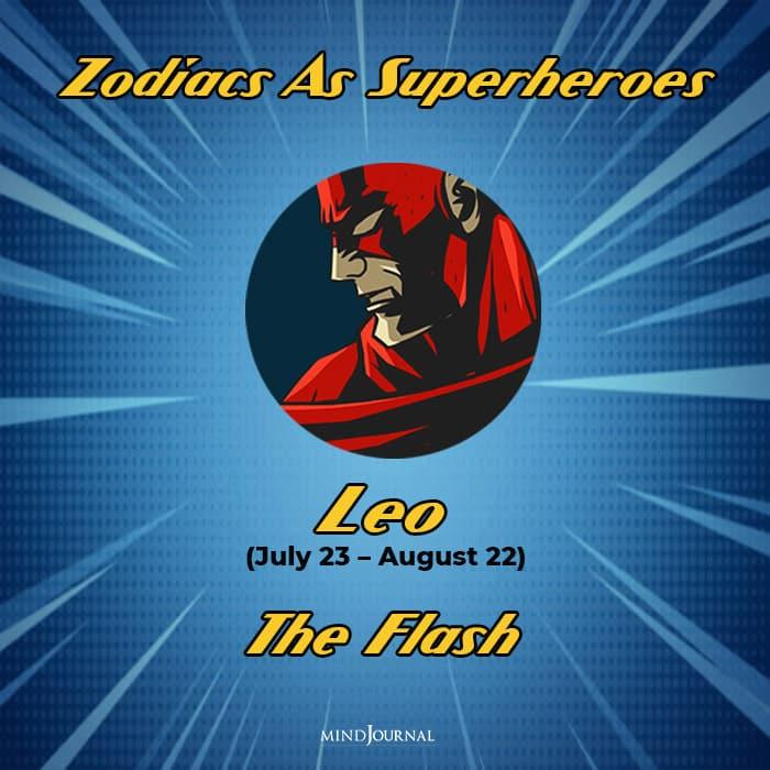 Zodiac Signs As Superhero leo