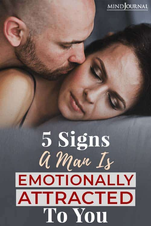 signs man is emotionally attached to you Pin