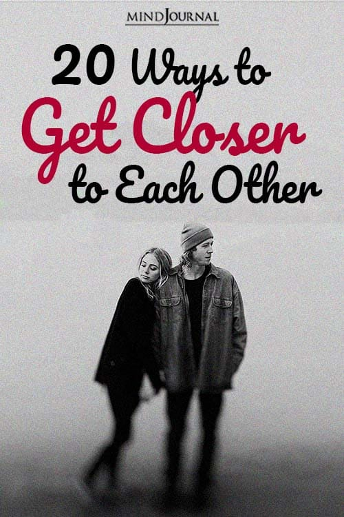 20 ways to get closer with each other pin
