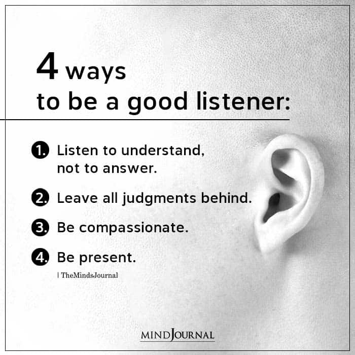 4 Ways To Be A Good Listener