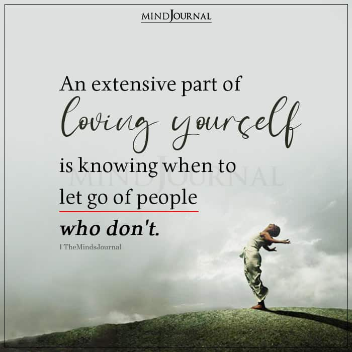 A Big Part Of Loving Yourself Is Knowing
