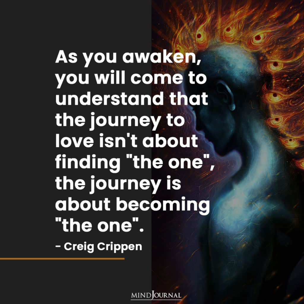 As you awaken, you will come to understand.