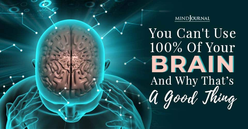 Cant Use Brain Good Thing