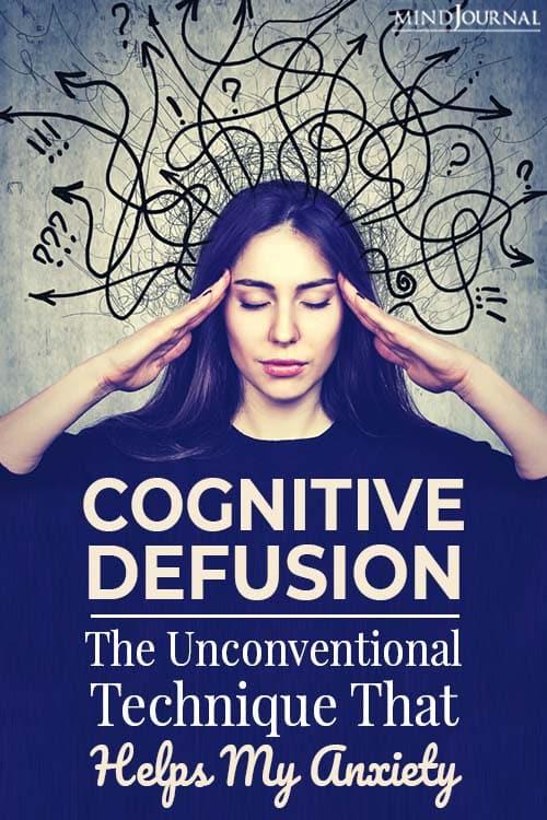 Cognitive Defusion pin