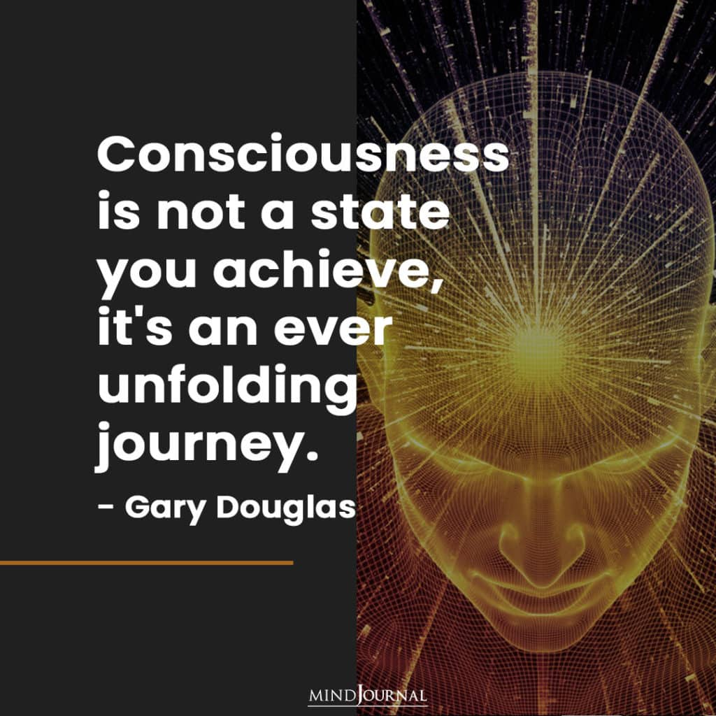 consciousness is not a state you achieve.