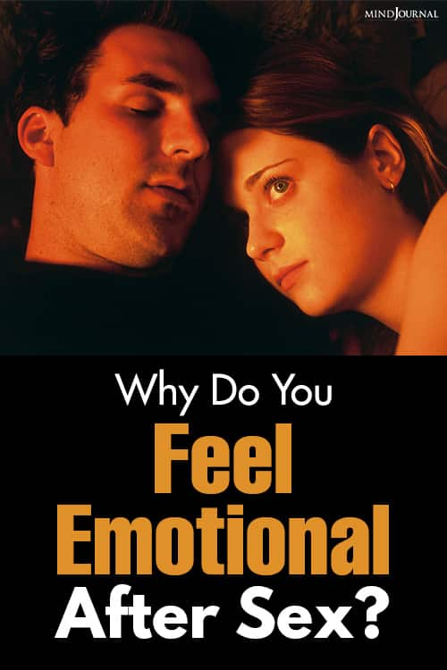 Feel Emotional After Sex pin