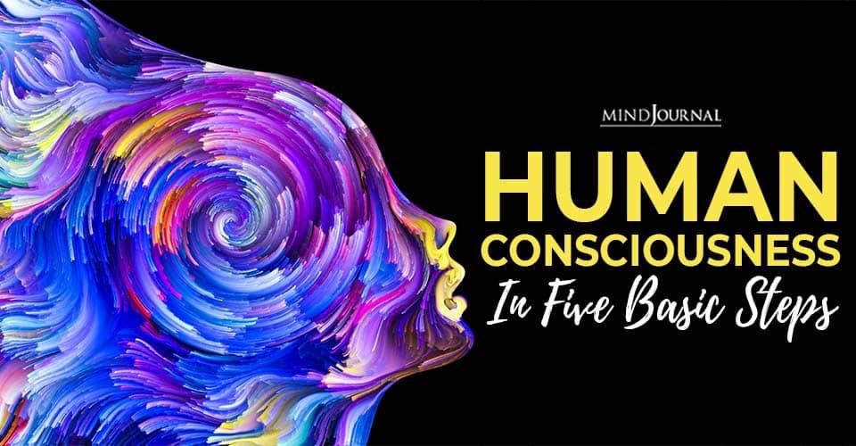 Human Consciousness Five Steps