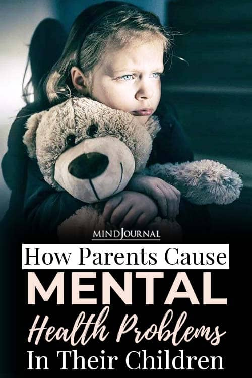 Parents Cause Mental Health Problems Children pin