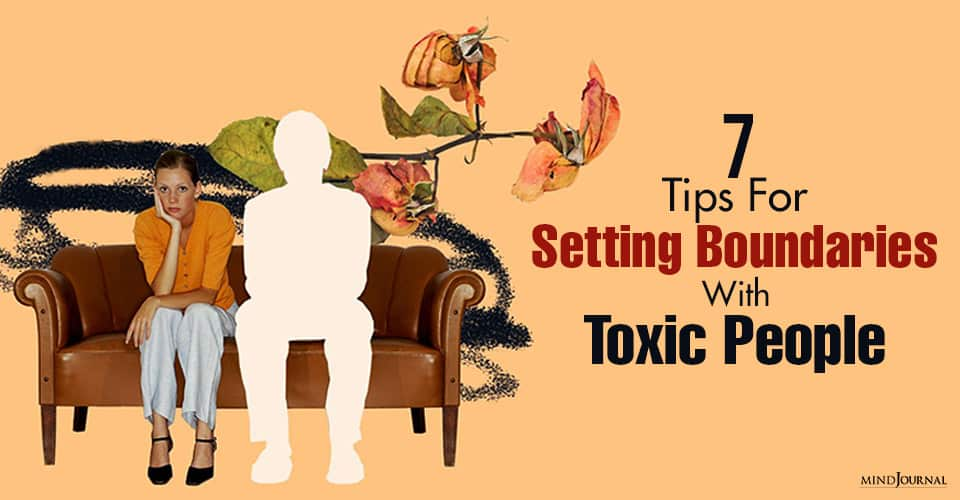 Setting Boundaries Toxic People