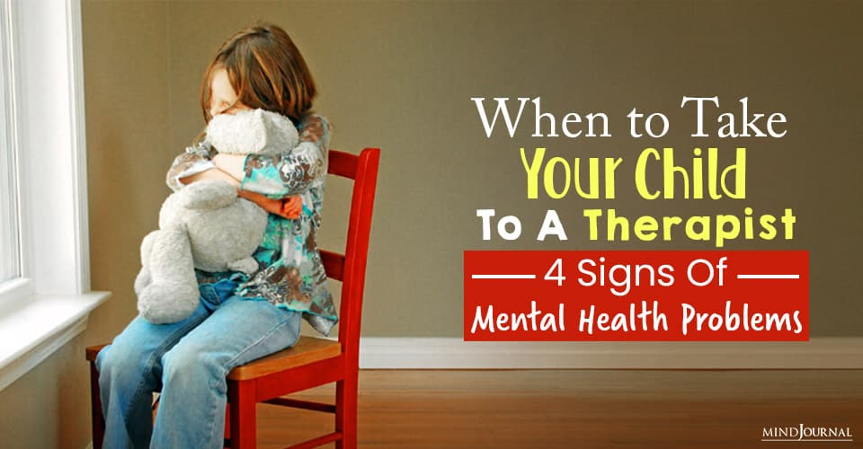 Signs of Mental Health Problems in Children