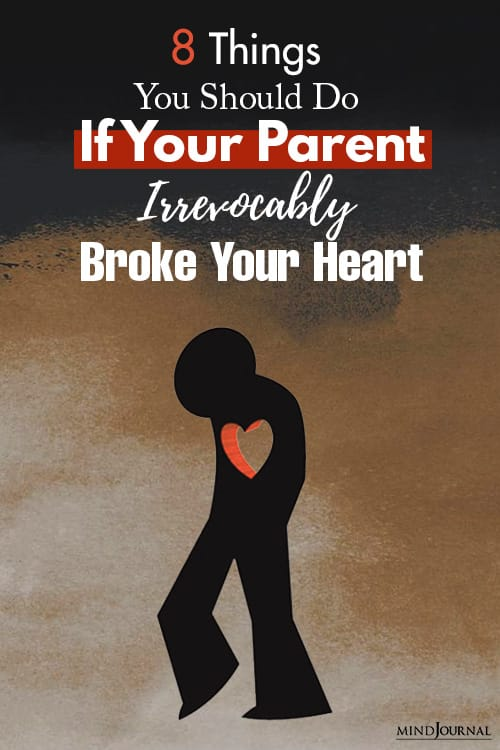 Things Parent Irrevocably Broke Heart pin