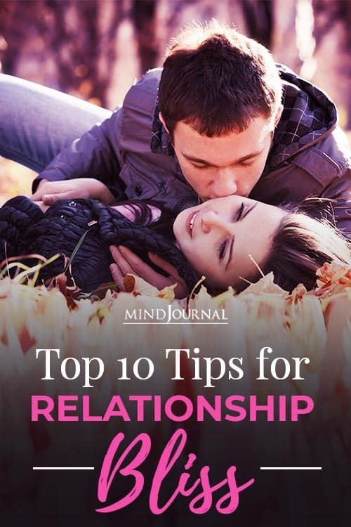 Tips for Relationship Bliss Pin