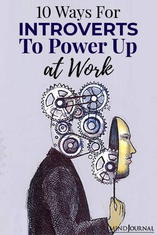 Ways Introverts Power Up Work pin
