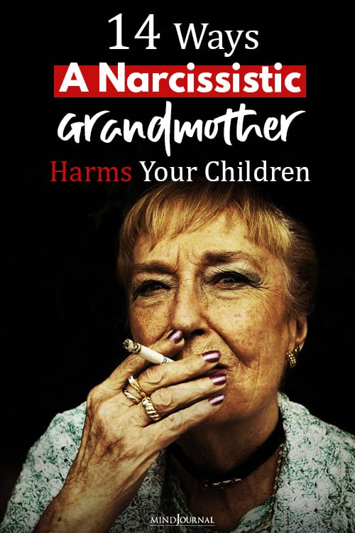 Ways Narcissistic Grandmother Can Harm Your Children Pin