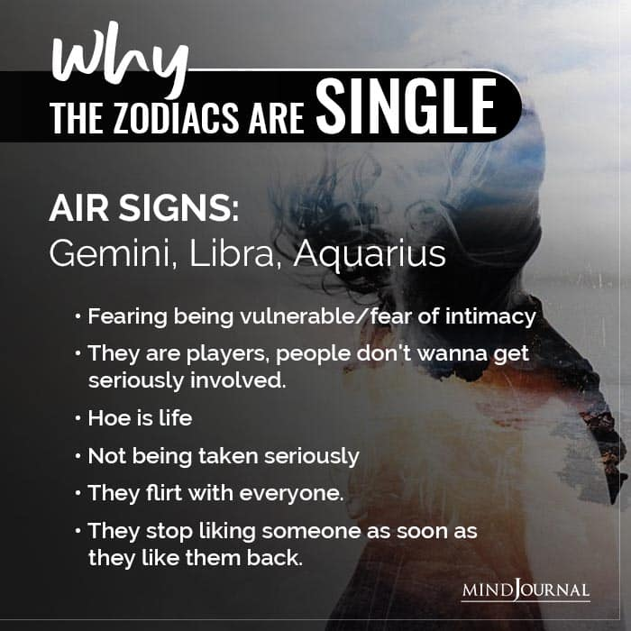 Why The Signs Are Single Air Signs