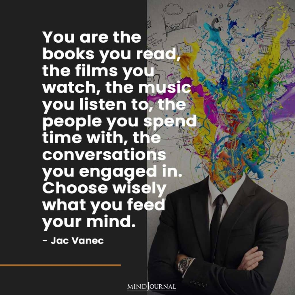 You are the books you read.