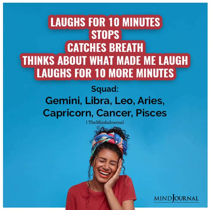 Zodiac Signs Laughter Squad
