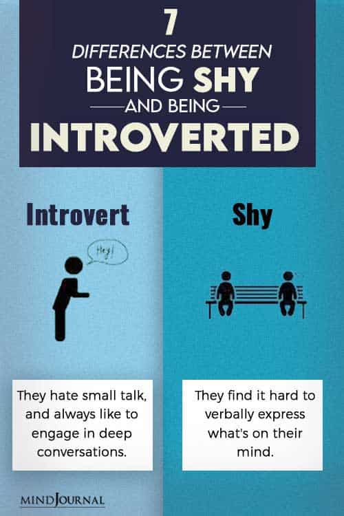 differences between shy and introvert