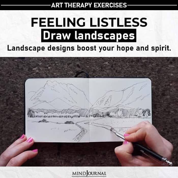 draw landscape