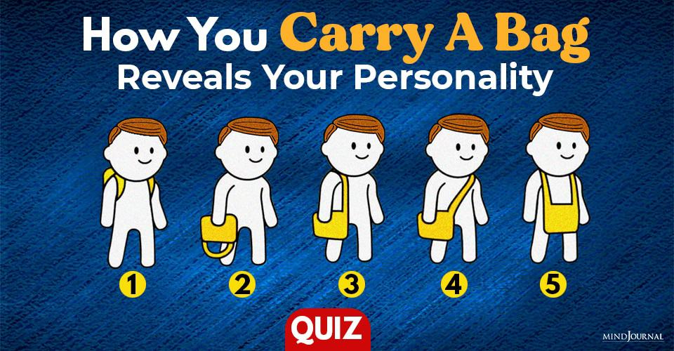 how you carry your bag