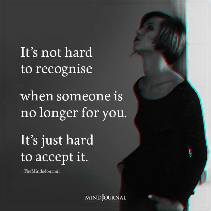 its not hard to recognise