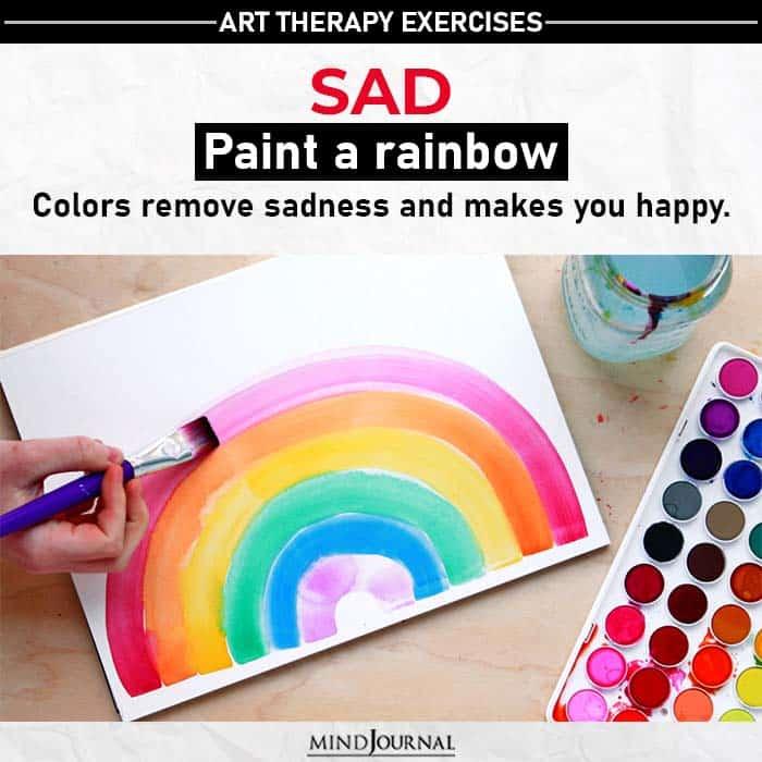 paint a ranbow