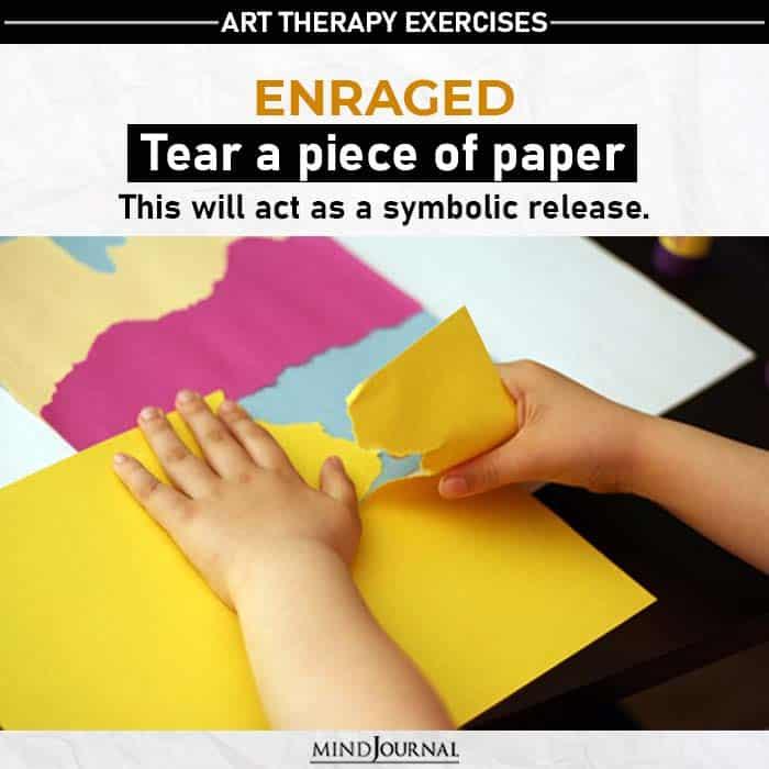 tear a piece of paper