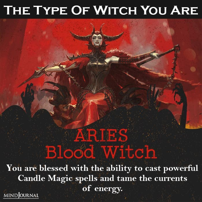 type of witch you are aries